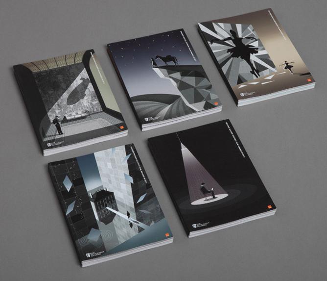 Adam Simpson's 2011 BAFTA illustrations