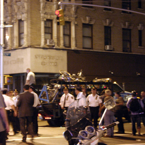 BNC Critical Mass bike confiscation
